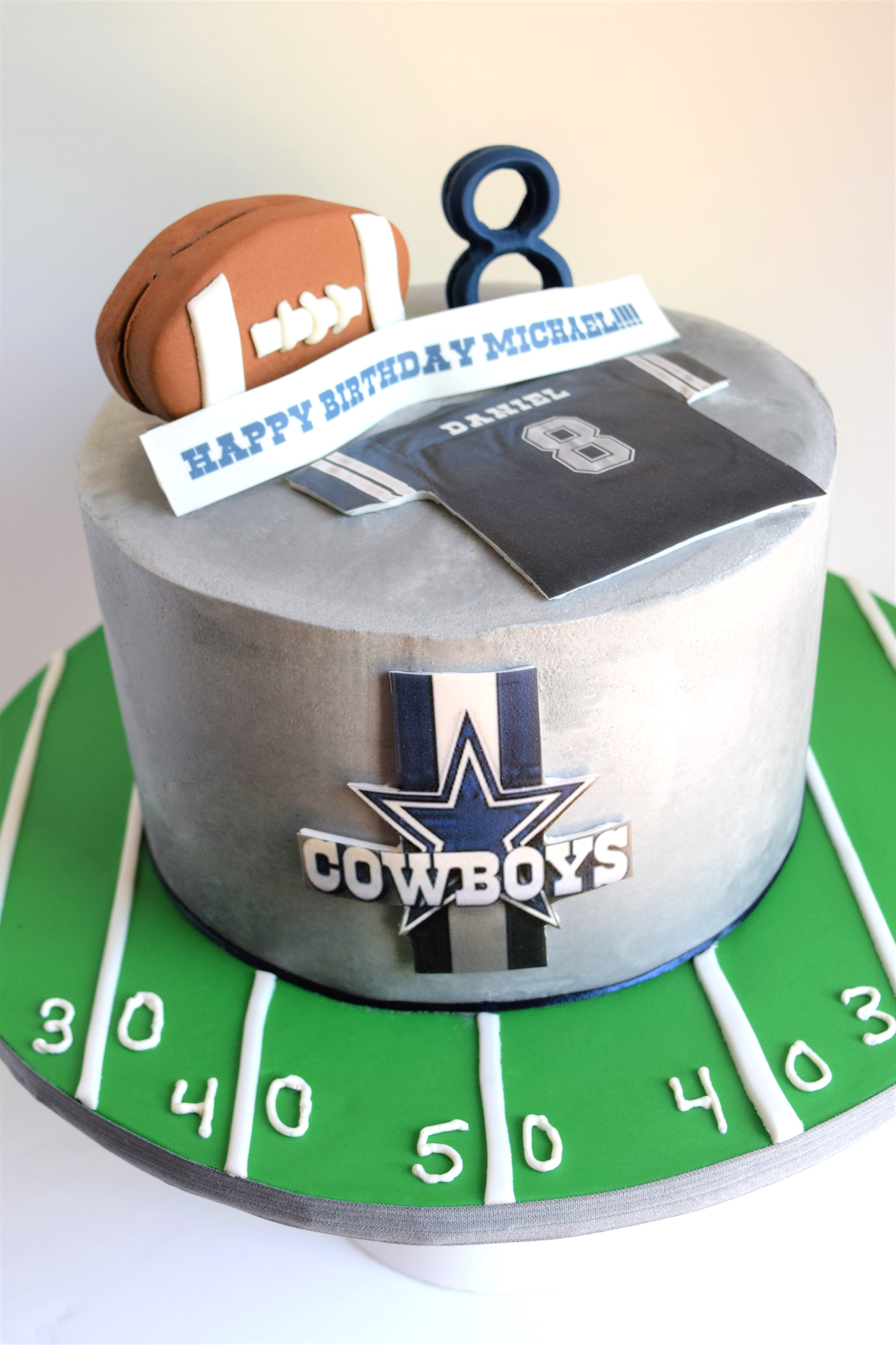 Dallas Cowboys Themed Cake