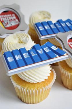 Business Anniversary Cupcakes