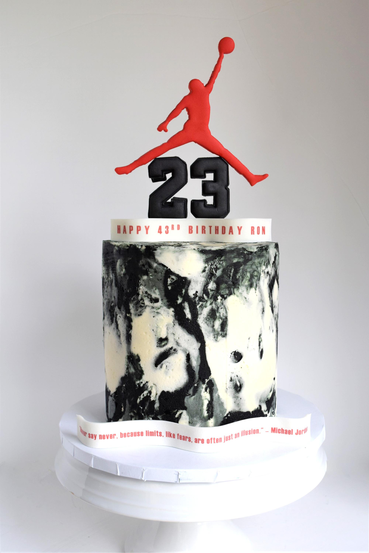 Jordan Themed Cake