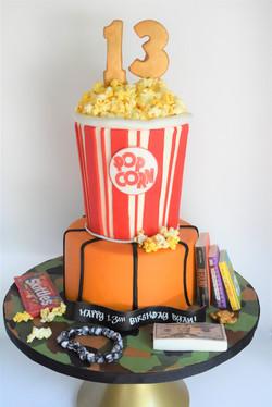 Favorite Things Themed Birthday Cake