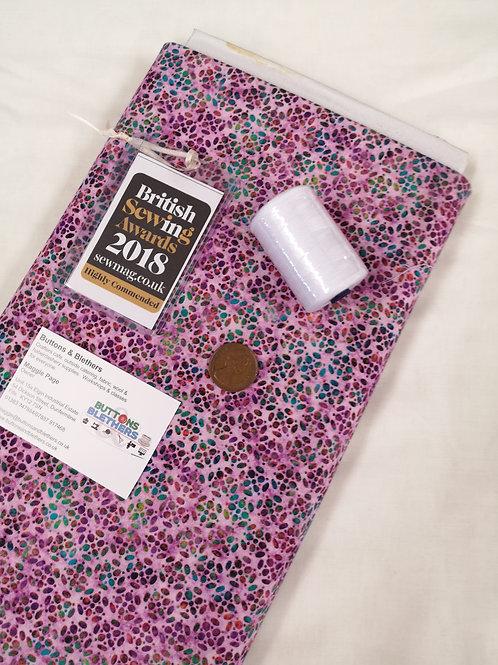 Dan Morris. Pink flowers 100% cotton