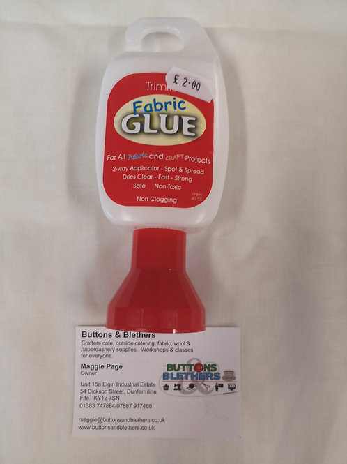 Fabric glue 118ml