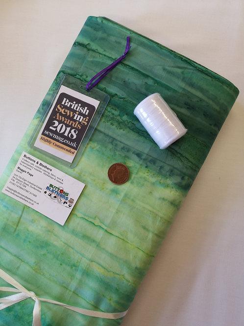Batik landscapes. 100% cotton