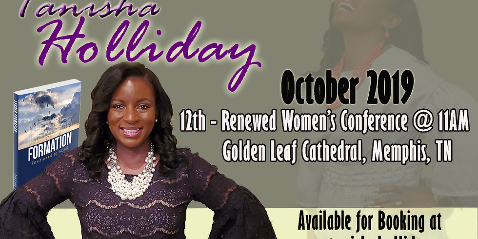 Renewed Women's Conference - Keynote / Empowerment Speaker