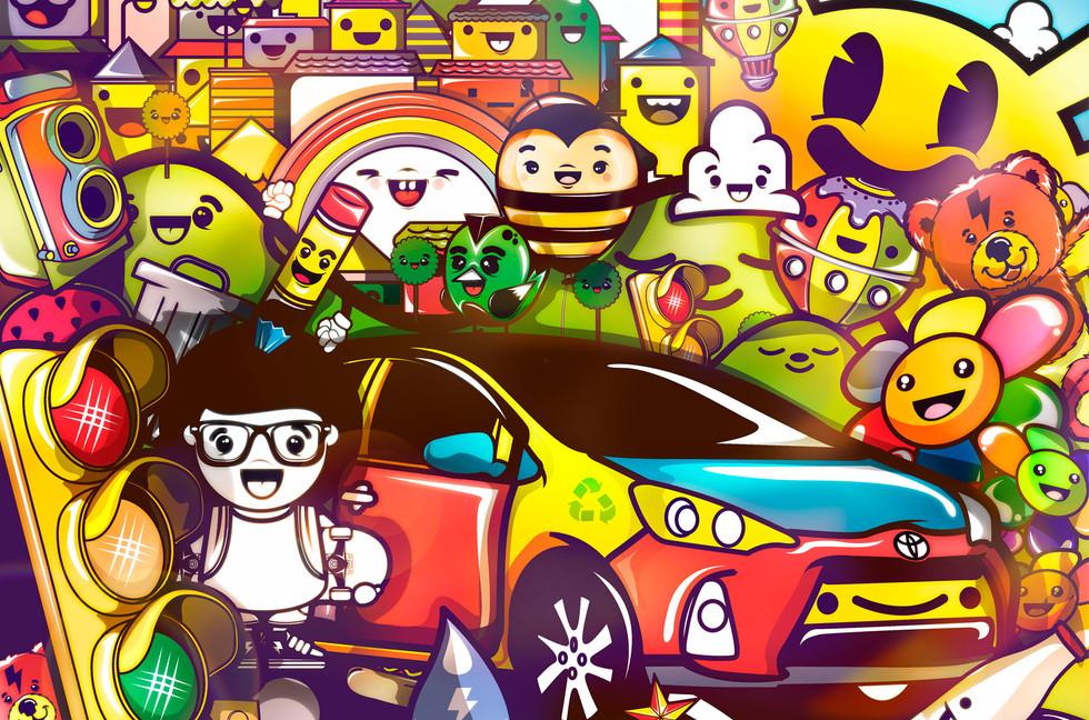 Toyota x Chocotoy