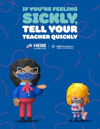 (Poster) CDC tell a teacher poster copia