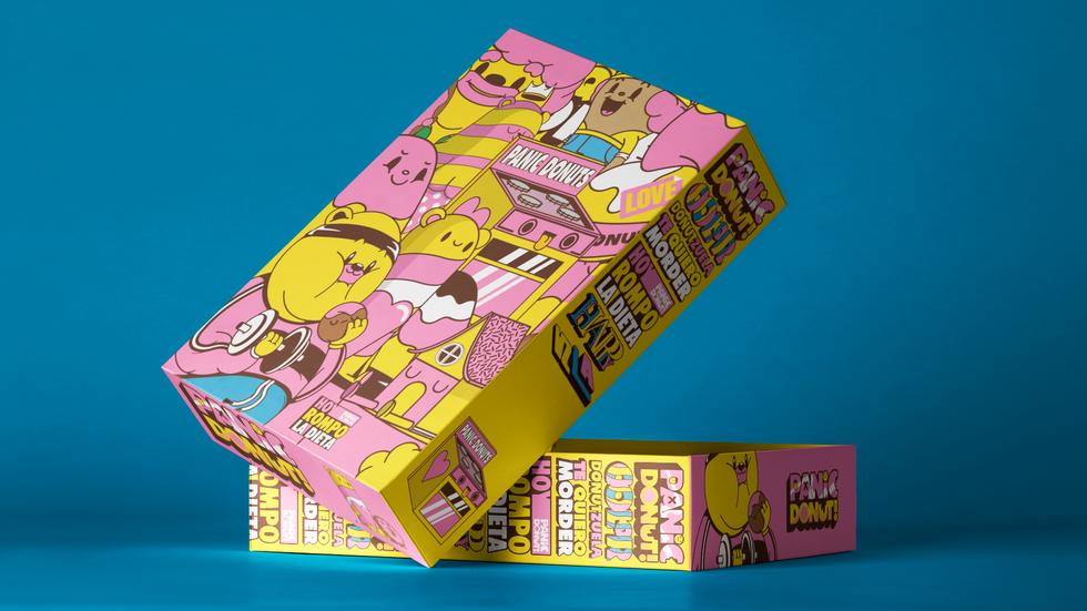 Box Packaging Presentation Mockup vol 2.