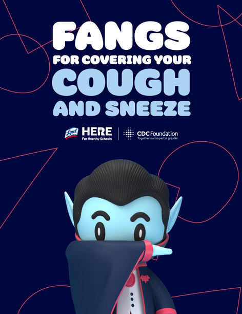 (Poster) CDC cover cough & sneeze poster