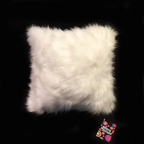 'Luxury White' Tactile Sensory Cushion