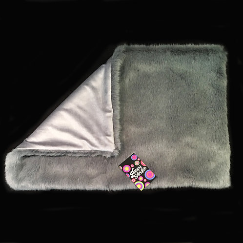 'Smoke Ash' Weighted Lap Blanket / Small
