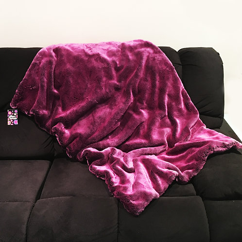'Berry Blush' Weighted Blanket / 1.8m x 1.1m