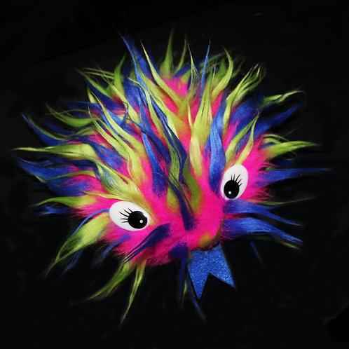 'Pink Blue Green' Critter Fidget Toy