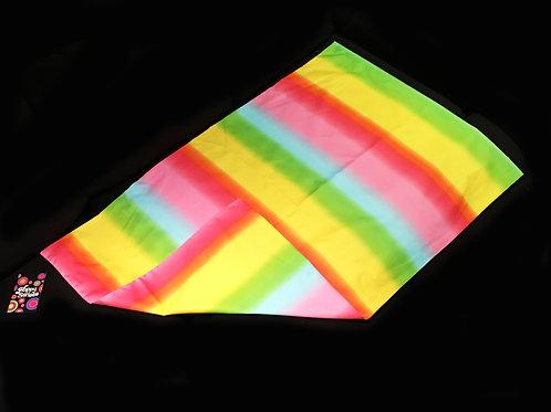 'Rainbow Haze' Weighted Lap Blanket / Cotton