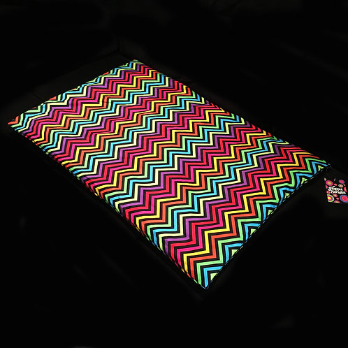 'Zigzag' Weighted Lap Blanket / Cotton
