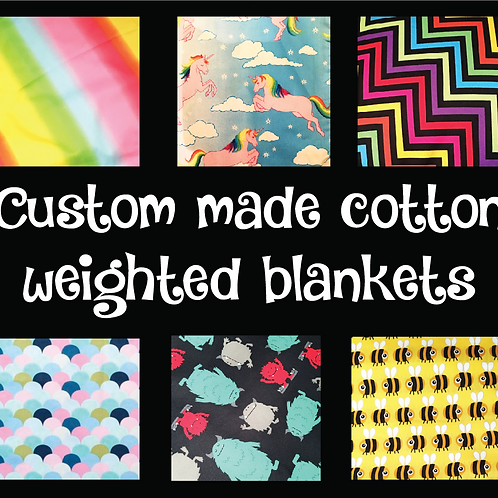 Custom Order Weighted Blanket / Cotton