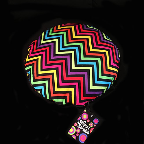 Zigzag Weighted Lap Cushion / Cotton