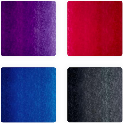 'Ombre Collection' Weighted Blankets // 1.5m x 90cm // 100% Cotton