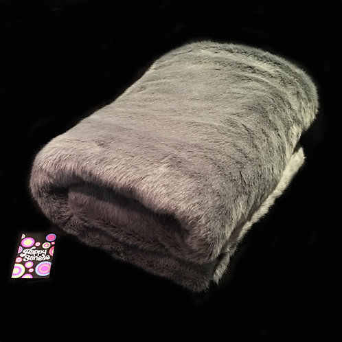 'Smoke Ash' Weighted Blanket / 1.5m x 90cm