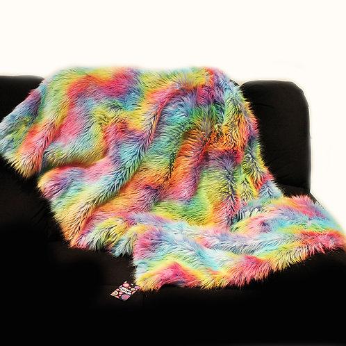 'Rainbow Wave' Weighted Blanket / 1.8m x 1.1m