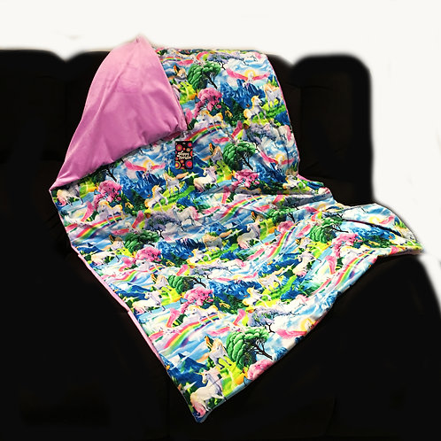 'Magical Unicorn Land' Weighted Blanket
