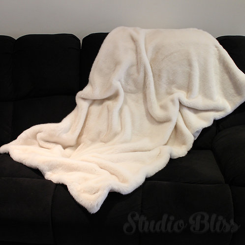 'Vanilla Cream' Weighted Blanket