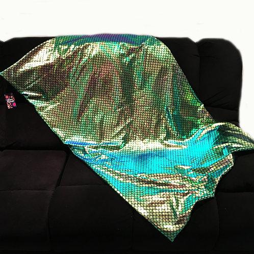 'Shimmering Mermaid' Weighted Blanket / 1.8m x 1.1m