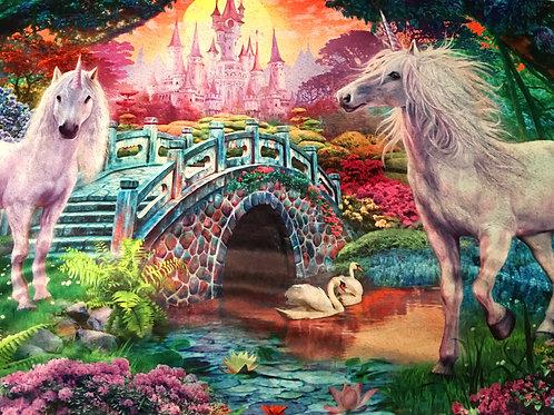 'Magic Unicorns' Weighted Blanket