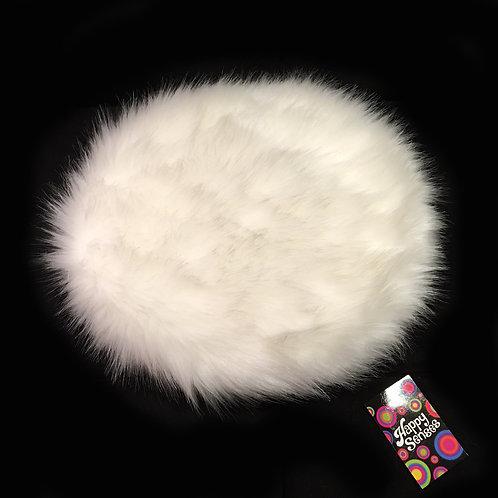'Luxury White' Weighted Lap Cushion
