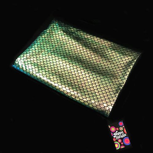 'Shimmering Mermaid' Weighted Lap Blanket / Medium