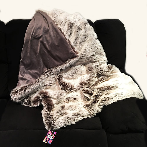 'The Blizzard' Weighted Blanket / 1.8m x 1.5m