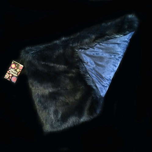'Midnight Blue' Weighted Lap Blanket / 1.5KG Small