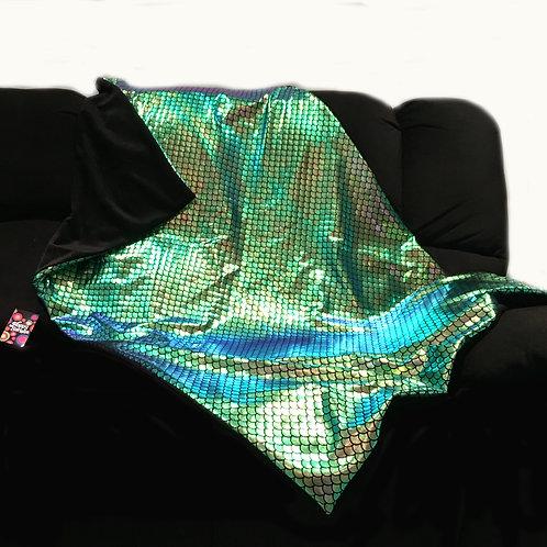 'Shimmering Mermaid' Weighted Blanket