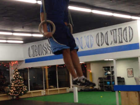 Another First Muscle-Up!
