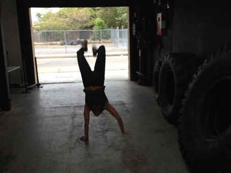 We've Got A New Handstand Walk Record At The Ocho!