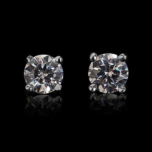 HMRLE Diamond Earstuds
