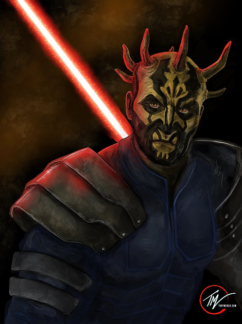 Savage Opress - Brother of Maul -- A3 ART PRINT