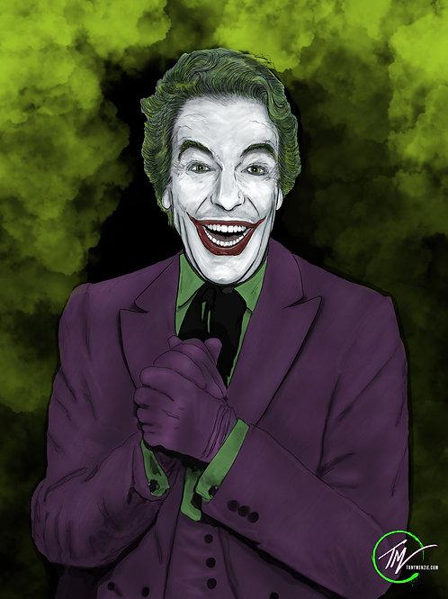 Joker `66 - Cesar Romero -- A3 ART PRINT