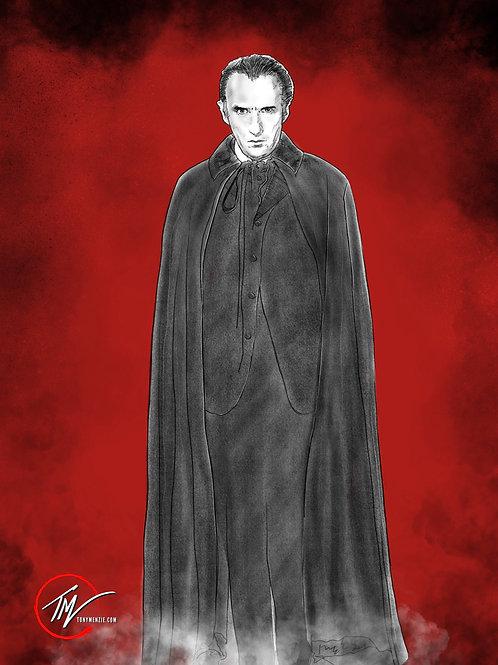 Dracula -- A3 ART PRINT