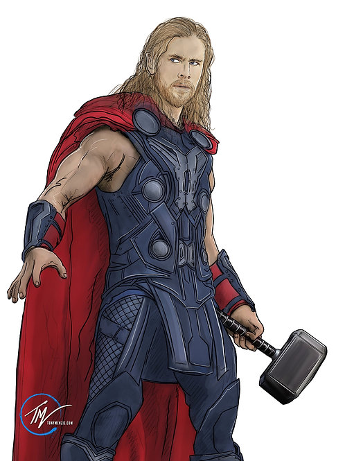 Thor -- A3 ART PRINT