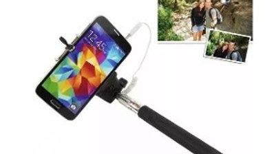 Bastão Pau Selfie Mão Monopod Mini Celulares P2 Retrátil