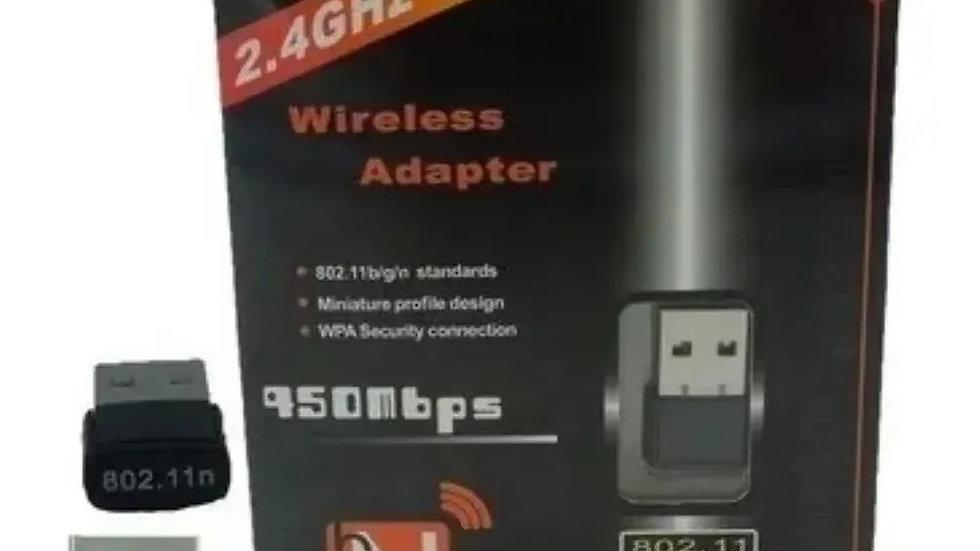 Receptor wireless usb wifi nano