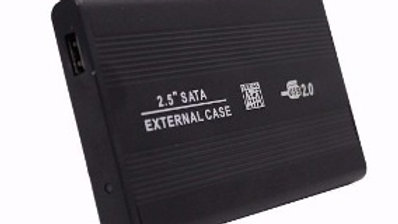 Case Gaveta Externa Hd 2.5 Polegadas Externo Usb 2.0 Sata