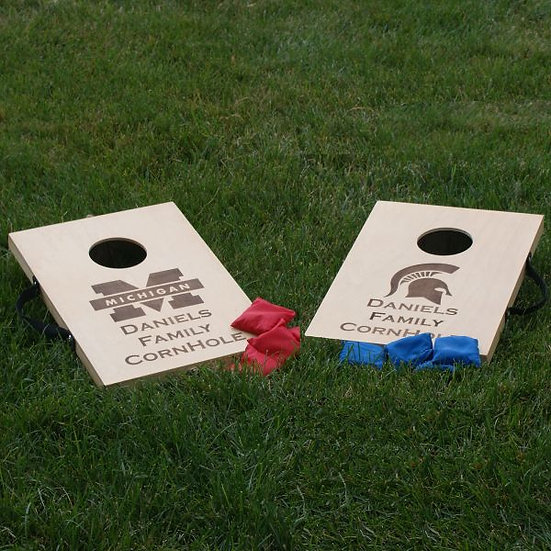 Mini Cornhole Game, Cookout, Family Games, Party Games, Custom Games