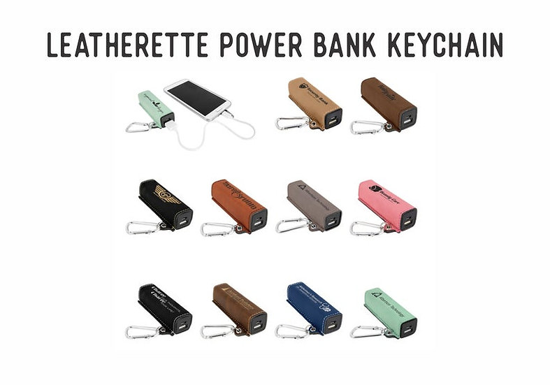 Portable Charger, Key chain, 200 mAh Power Bank with USB Cord, Employee Gift