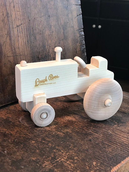 Custom Engraved Toy Tractor