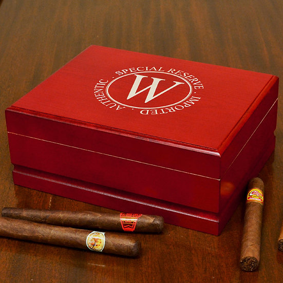 Personalized Cigar Box, Customized Cigar Box, Personalized Humidor