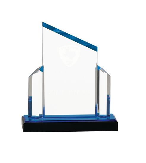 Personalized Beveled Post Impress Acrylic Award, Employee Award, Upscale A