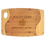 "Thumbnail: 11 3/4"" x 17 3/4"" Bamboo Two Tone Cutting Board with Handle, Personalized"