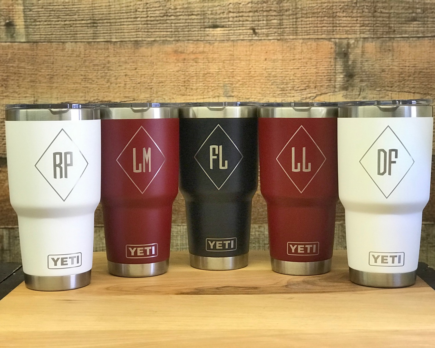 30oz Custom Engraved Yeti Tumblers