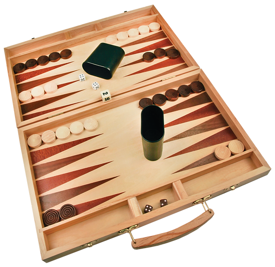Schima Wood Backgammon Set, Personalized Engraved, Games, Promotional